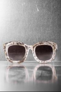 Kuboraum B7 Silver Sunglasses