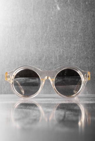 Kuboraum A1 Silver Sunglasses