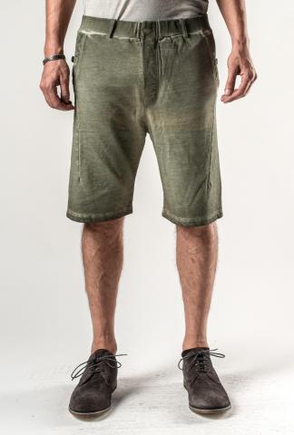 Manuel Marte Cold Dyed Asymmetric Pattern Shorts