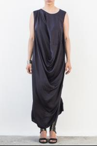 Uma Wang Front Draped Dress