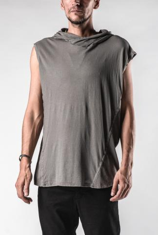 Lost&Found Hooded Loose Sleeveless T-shirt