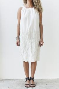UMA WANG UW5049 W21E4.102 DRESS WHITE