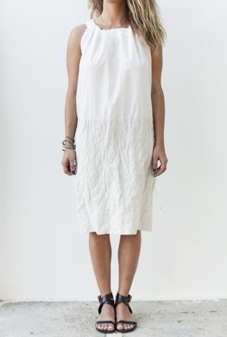Uma Wang UW5049 W21E4.102 DRESS WHITE
