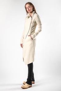 Leon Emanuel Blanck DIS-WCC-01 Anfractuous Distortion Cashmere Coat