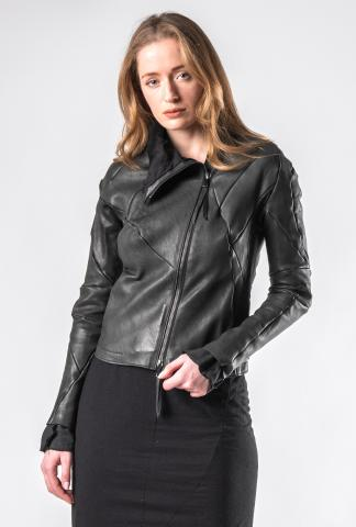 Leon Emanuel Blanck DIS-WJ-01 Anfractuous Distortion Lined Soft Horse Leather Jacket