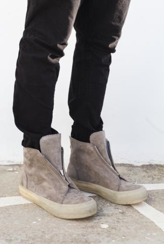 10Sei0otto Zip sneaker beige
