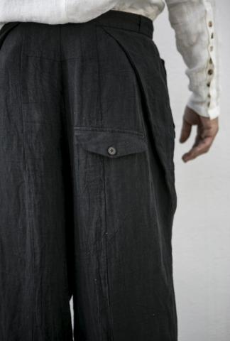 ALEKSANDR MANAMIS wide croped pants