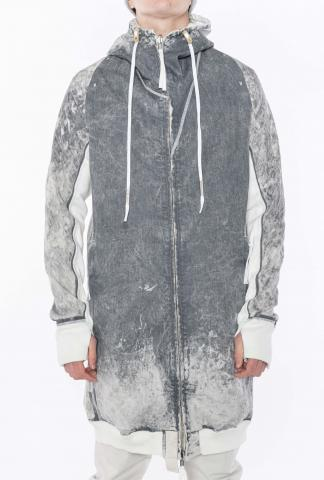 Boris Bidjan Saberi HYBRID ZIPPER3.1 ST Reversible Seam Taped Hooded and Hybrid Zipper Coat