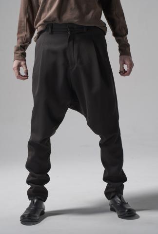 Devoa Drop Crotch Slim Pants