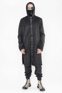 11byBBS Cotton long zippered jacket