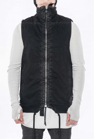 Boris Bidjan Saberi PADDED VEST5.1 Vinyl Coated Padded Vest