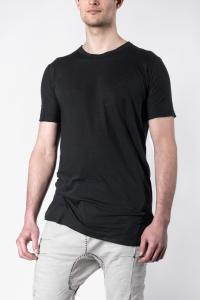 Boris Bidjan Saberi TS1.1 REGULAR FIT Black Short Sleeve T-Shirt