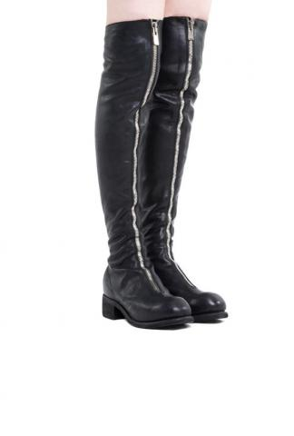 Guidi Tall Front Zip Boots