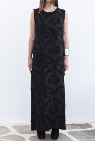 Uma Wang UW5013Z09I5 BLACK DRESS