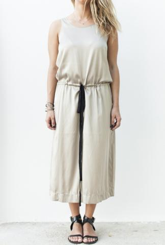 Uma Wang Pullable Cord Slip Dress