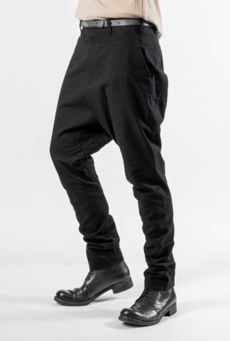 Devoa Jodhpur Drop-crotch Tapered Trousers