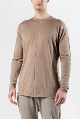 Devoa Soft Silk/Cashmere Blend Knitted Sweater