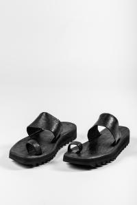 Dimissianos & MIller Shark Tooth Platform Daktylo Sandals