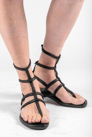 Dimissianos & Miller Cage Leather Sandals