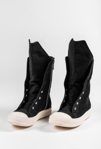 DRKSHDW by Rick Owens Ramone Boot Canvas Sneakers