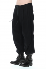 D.HYGEN Minimal Dobby Striped Pleated Cropped Pants
