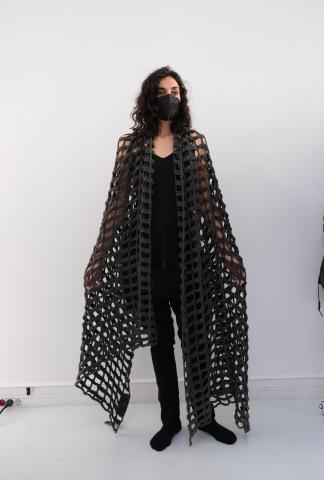 Rundholz Knitted scarf
