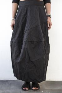 Simona Tagliaferri Spiral Pattern Textured Balloon Skirt