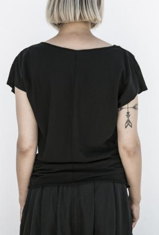 POEME BOHEMIEN draped t-shirt