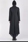 Isabel Benenato Long wool double brest coat
