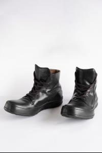 Devoa Leather High-top Sneakers