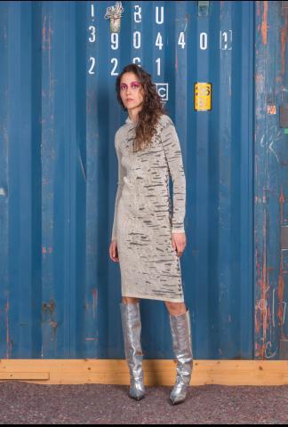Alessandra Marchi Knit Dress