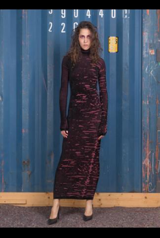 Alessandra Marchi Long Knit Dress