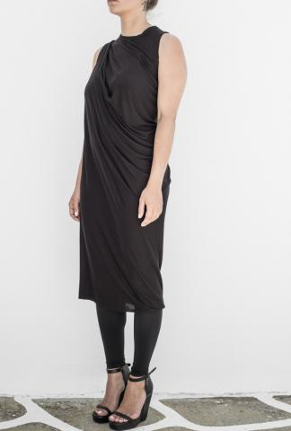 RICK OWENS Sleeveless jersey dress