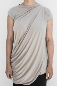 Rick Owens Lillies Bias Cut Draped Top