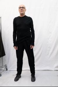 Marc Le Bihan Pantalon Hopital Plis Large
