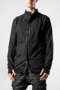 Boris Bidjan Saberi HYBRID ZIPPER 1 Asymmetric Zipped Work Jacket