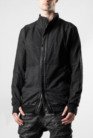Boris Bidjan Saberi HYBRID ZIPPER 1 Asymmetric Zipped Work Jacket