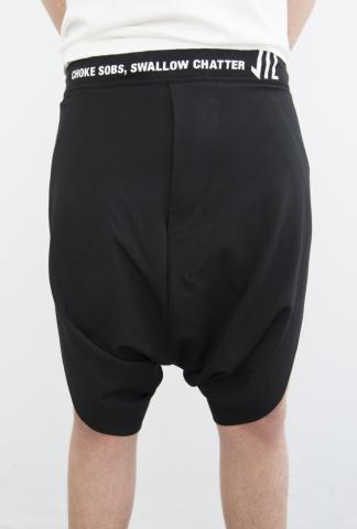 Niløs 580PAM13 Printed Waistband Sarouel Shorts (Fits as S)