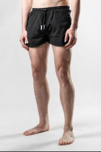Boris Bidjan Saberi SWIM1 Black Swim Shorts