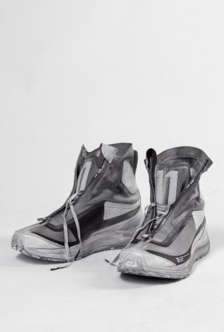 11byBBS Salomon BAMBA2HIGH Grey Dye High Top Sneakers