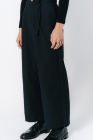 Chiahung Su Logtree Straight-leg Trousers with frayed cuffs