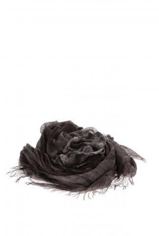 D.HYGEN Silk-Blend Rayon Print Scarf