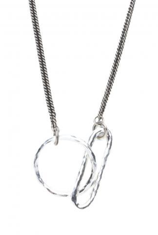 Werkstatt Munchen Necklace Hammered Link