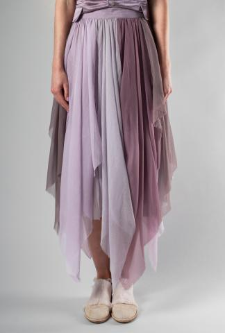 A Tentative Atelier Graciela Silk Organza Pleated Skirt (Elixir Exclusive)