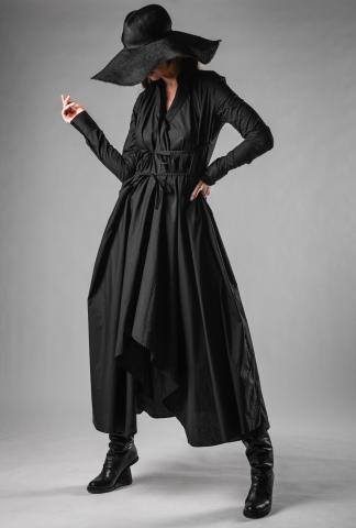 Marc Le Bihan Laced Shirt Dress