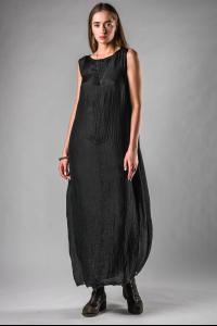 Marc Le Bihan Silk Balloon Dress
