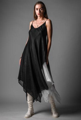 Marc Le Bihan Silk Tie Dye Dress