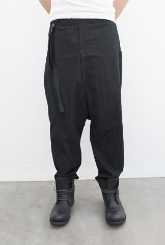 Nostrasantissima Belted Loose Trousers