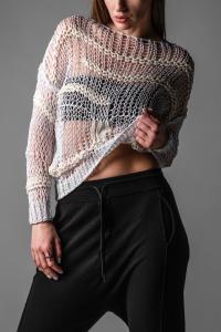 Isabel Benenato Loose Knit Sweater
