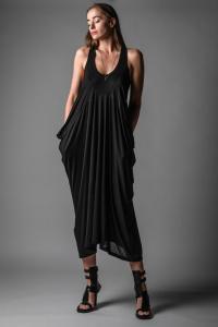 Isabel Benenato Side Draped jersey Dress